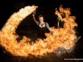 Spark Fire Dance - Female Dragon club performer
