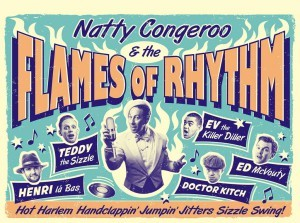 Natty Congero & The Flames of Rhythm
