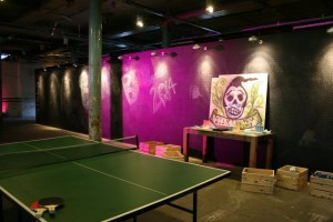 Ping Pong doodle area